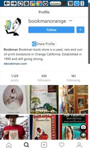 @bookmanorange Instagram profile - Smarketryblog.com