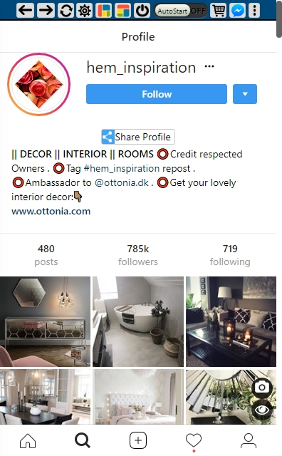 Instagram Hashtag Analytics #RealEstate - @hem_inspiration profile- SmarketryBlog
